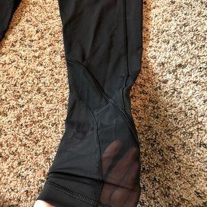 lululemon athletica Pants - Lululemon 7/8 Inspire Mesh Leggings